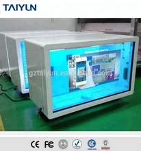 Taiyun 46'' Transparent LCD Computer Touch Screen With Samsung Panel