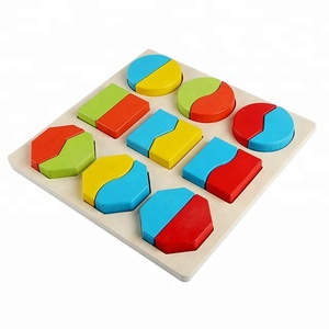 Wooden educational toys for kid children boy girl baby manufacturer wholesale Montessori wood shape sorter color toy mate