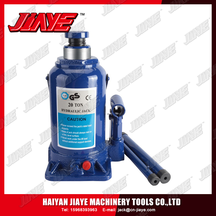 Heavy duty vertical hydraulic jack 2-50 ton manual lifting car