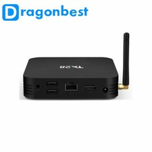 1080 P Android TX28 Smart Tv Box 4 Gb 32 Gb Pro Tv Box Aangepaste Launcher Quad Core Android Rk3328 radio & Tv Omroep