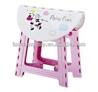 plastic round folding table square folding desk for children