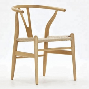 Contemporary danish wooden wishbone wegner Y dining chair