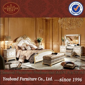 0062 Italy antique style wooden carved home/hotel bedroom set in white,  View antique bedroom set, Senbetter Product Details from Foshan Youbond ...