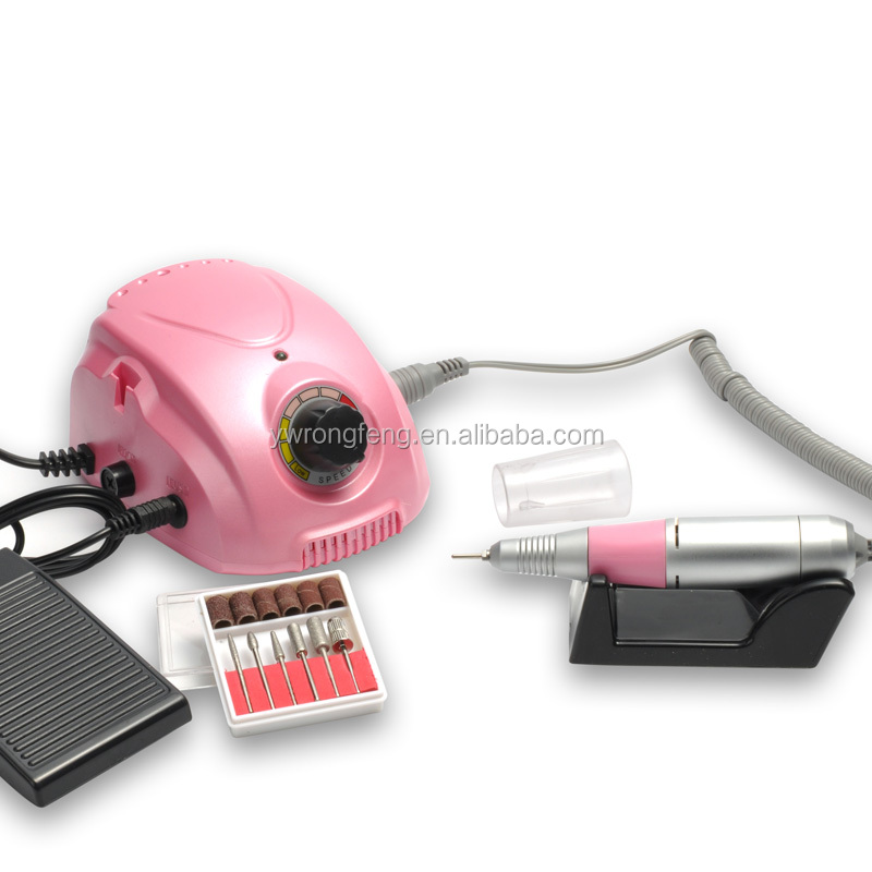 The best portable hot sale nail filling machine with vacuum system manicure machine nail drill
