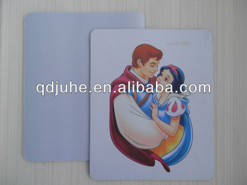 Blank heat transfer sublimation mousepad