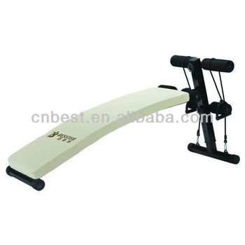 Bst Js-005cb Ab Bench Sit Up Bench Fitness Equipment Gym Abdominal ...
