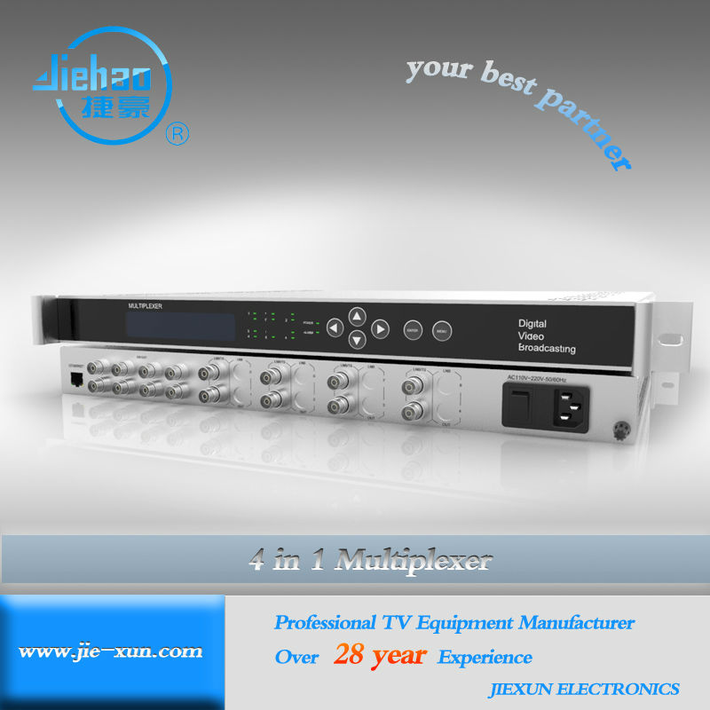 Satellite Internet Cable TV Multi Channels DVB IP Multiplexer