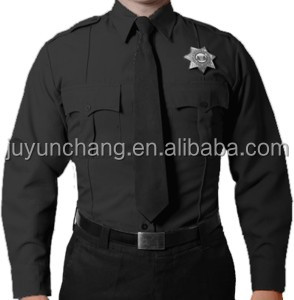 security company flame-retardant security uniform used