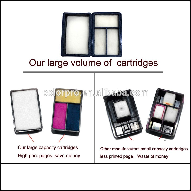 Hot Sale Colorpro 40xl 44xl Ink Cartridges  for 230/ 250c/ 330/ 350c/ 430 Inkjet printer