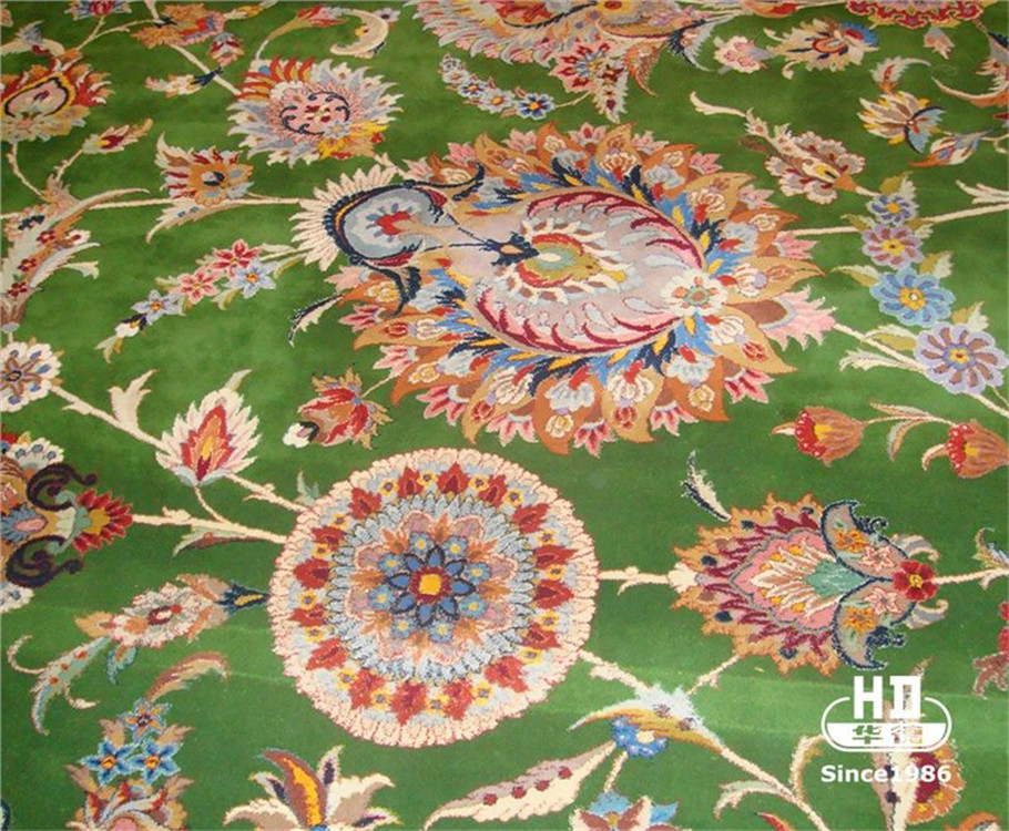 Turkish Carpet Hali Iranian Silk