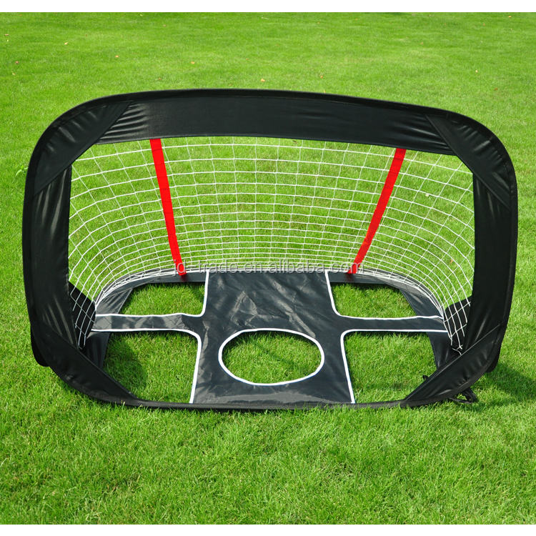 Hot Sale Kids Sports Toys Football Goal Door Folding Children Pop Up Adult Football Toys Indoor Outdoor Toys