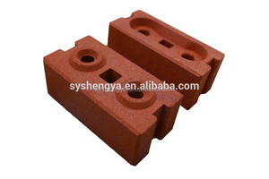 Small scale industries QMR1-40 compressed earth block making machine / manual clay brick machine price list