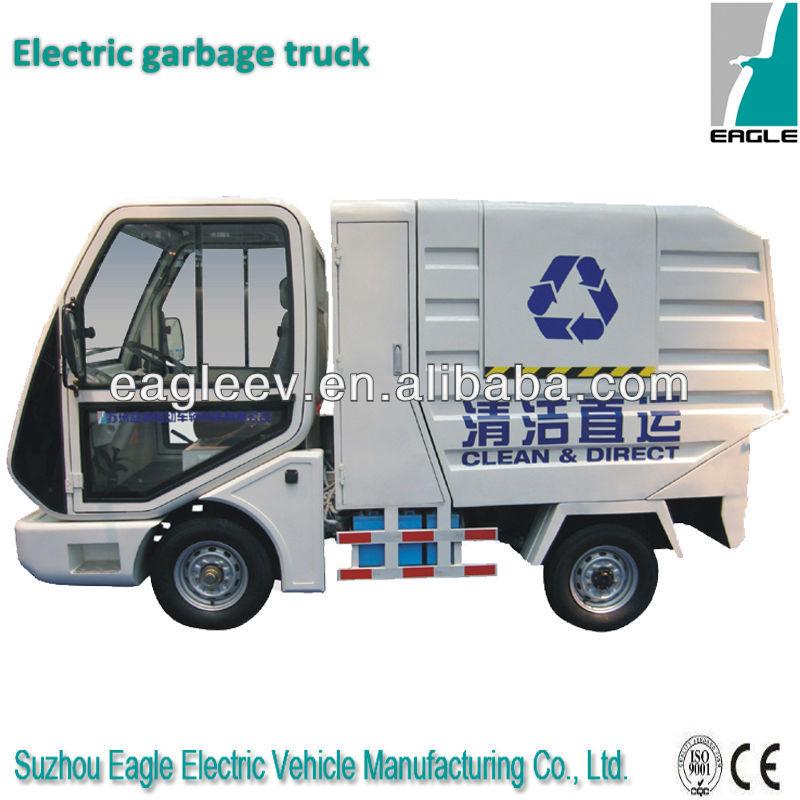 Garbage Truck Power Wheels : Çin güç tekerlekli elektrikli çöp kamyonu ce onaylı Çöp
