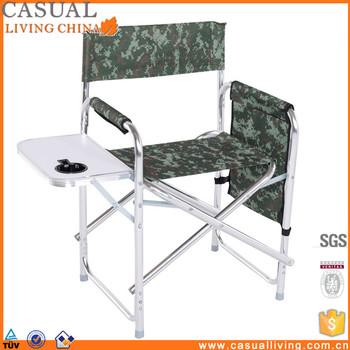 Merveilleux Travel Lightweight Aluminum Tall Directors Chair Folding Canvas Chair