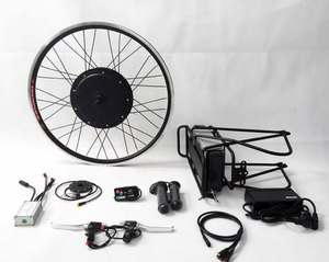 36V 500W Electric Bicycle Conversion Kit/mini motor wheel 500W With Rear rack battery