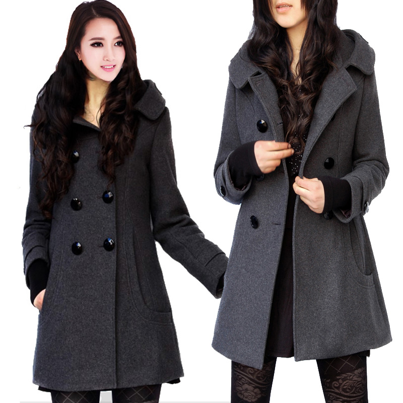 Overstock Anniversary Sale* Save on decor. Spooky Savings Event. Up to 70% off. Cozy Home Event* Up to 35% off. Rec Room Event* Pea Coat Coats. Clothing & Shoes / Women's Clothing / Women's Outerwear / Coats. of 44 Results. Excelled Women's Plus Size Black Double Breasted Belted Trench Coat.