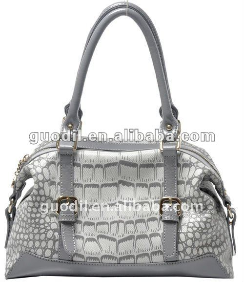 new design Europe style croco skin leather bag laieds handbags fashion!