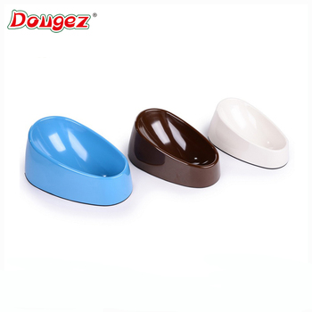 Best selling Cute Superior Environmental Friendly Pet Dog Cat Plastic Food Bowl