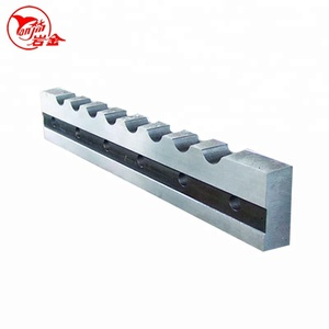 Round Mild Steel Cutting Blade , Mild Stainless Steel Rails Shearing Knife