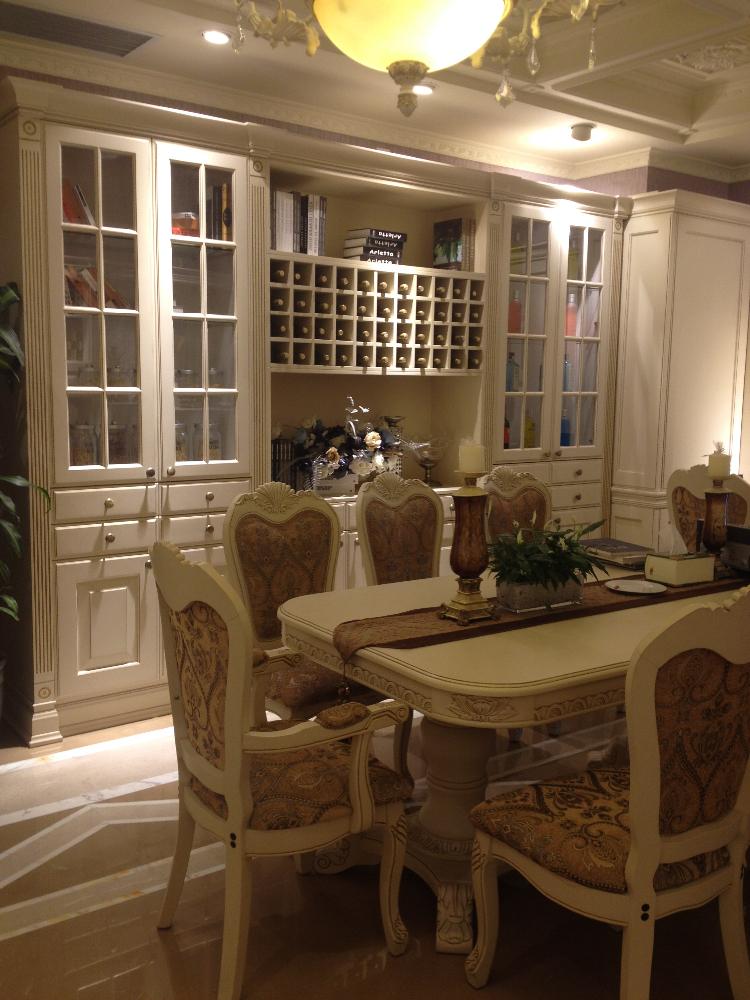 mobili da cucina di lusso tirare le maniglie delle porte in legno ...