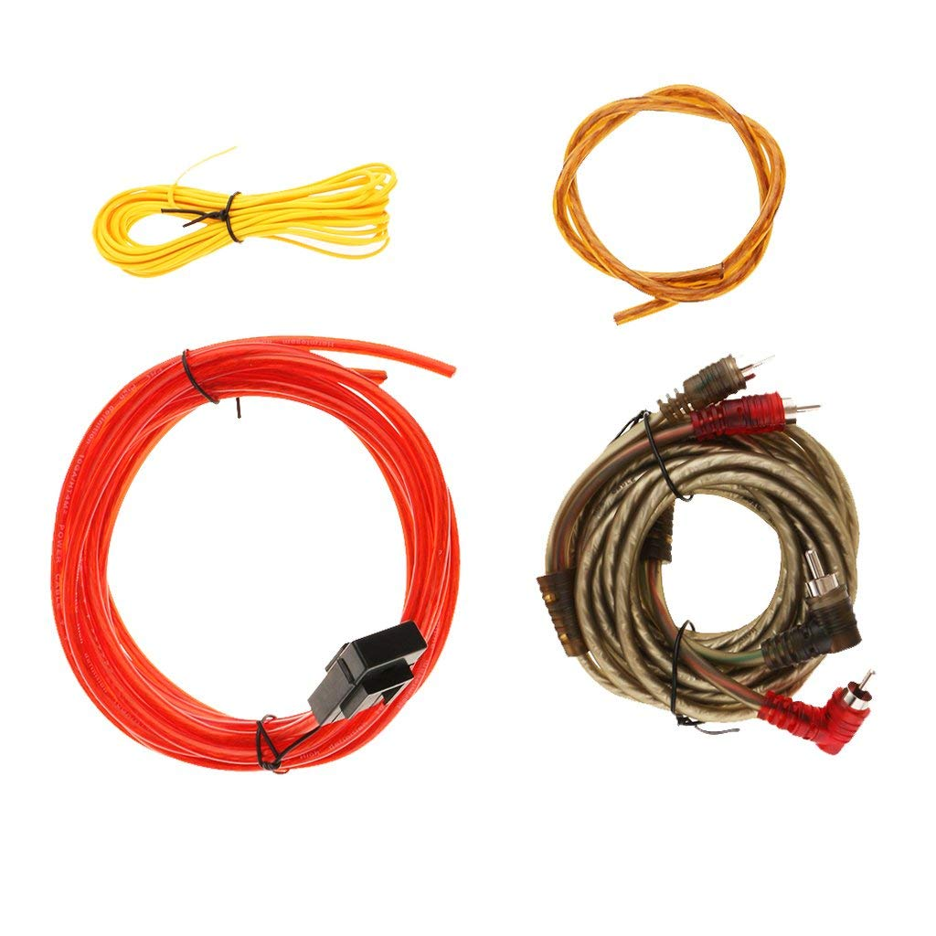 Cheap 24v Amplifier Audio Find Deals On Line At Class D Circuit Tpa3116d2 Tpa3118d2 Subwoofer Get Quotations Baoblaze Brand New Durable Car Sub Amp Rca Power Cable 126