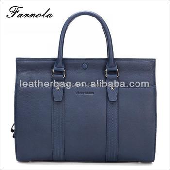 2018 fashion initial italian designer men leather bags and handbags