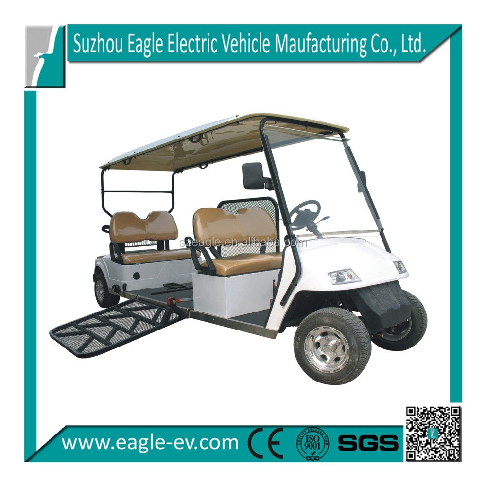 Golf Cart Type Electric Vehicle For Disabled