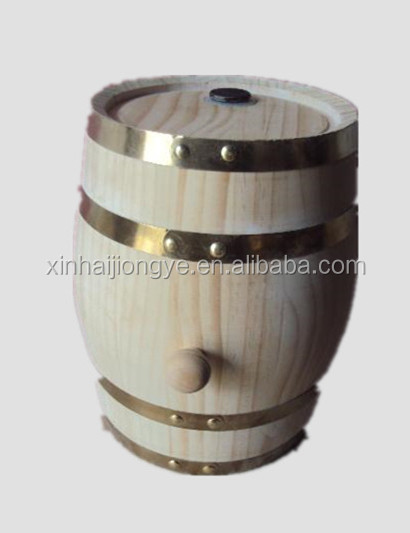 Customized wooden wine barrel/ wooden beer barrel kegs