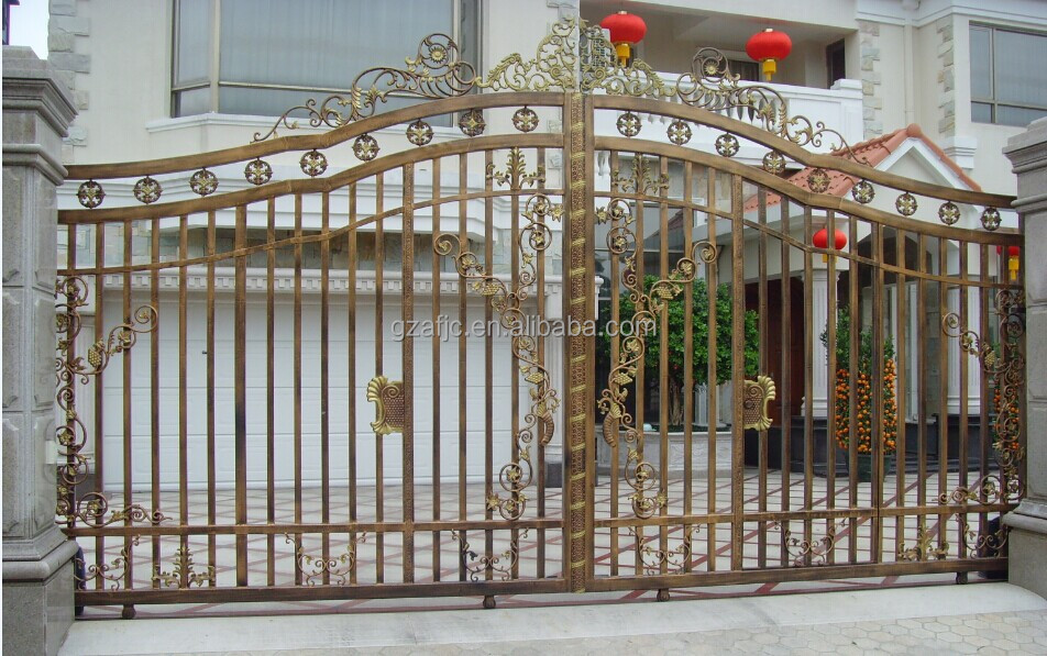 Steel Gate Metal Gate Square Tube Gate Design Buy