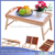 New brunch  breakfast Bamboo Wood Bed table serving Tray