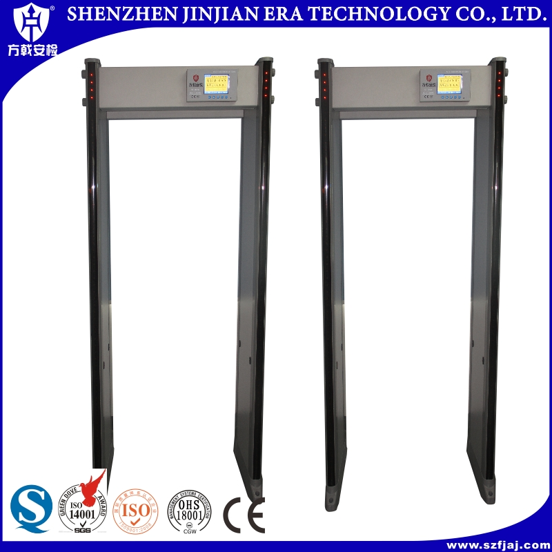 FJ-G800 hot sale cheap multi zone walk through metal detector/door frame archway metal detector/metal checkpoint gate
