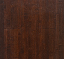 Coffee horizontal solid bamboo flooring with CE and green