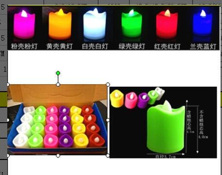 led light candle