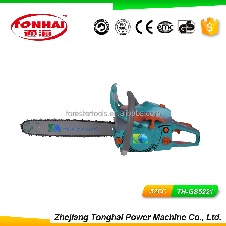 52CC Gasoline Chain Saw TH-GS5221 timberpro chainsaw with CE