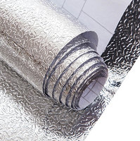 Self adhesive kitchen use waterproof aluminum foil wrapping paper