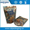 Matt material oat packaging plastic stand up zipper bag