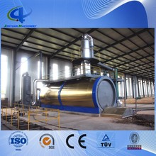 45%-55% High Oil Yield Waste Tyre and Plastic Recycle Pyrolysis Plant for Crude Oil