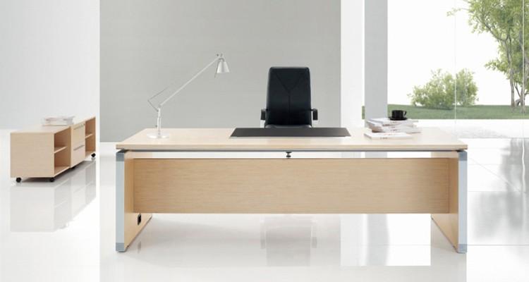 Nueva Oficina Moderna Muebles Última Oficina Mesa De Cristal Diseños ...