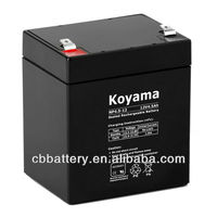 Lead Acid battery 12v 4.5Ah for LED light, Emergency light