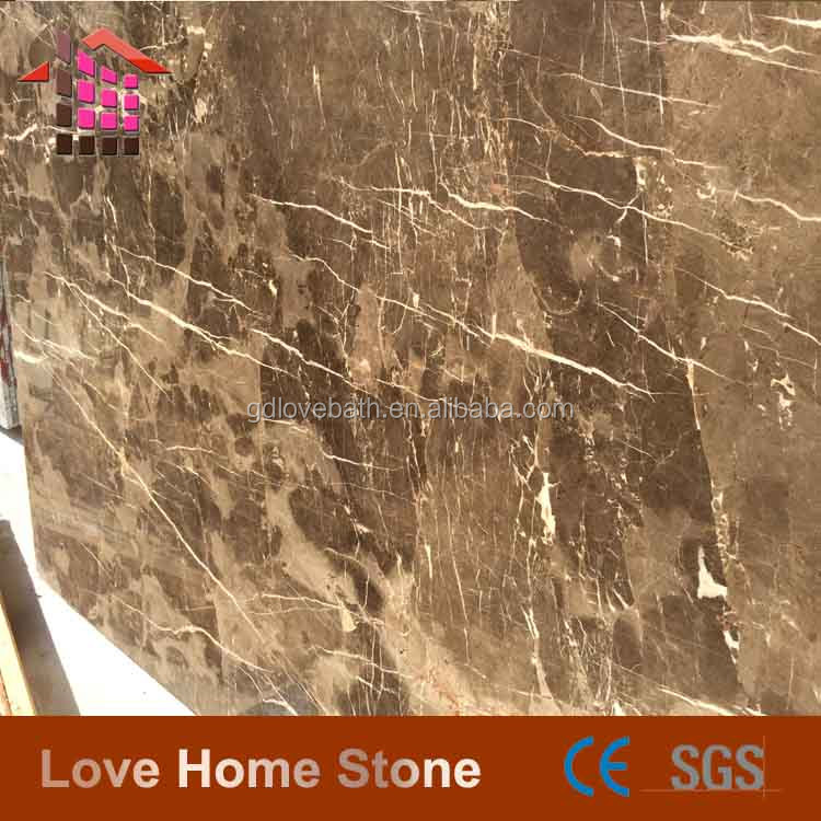 2014 New design floor tile marble Polished Dark Emperador