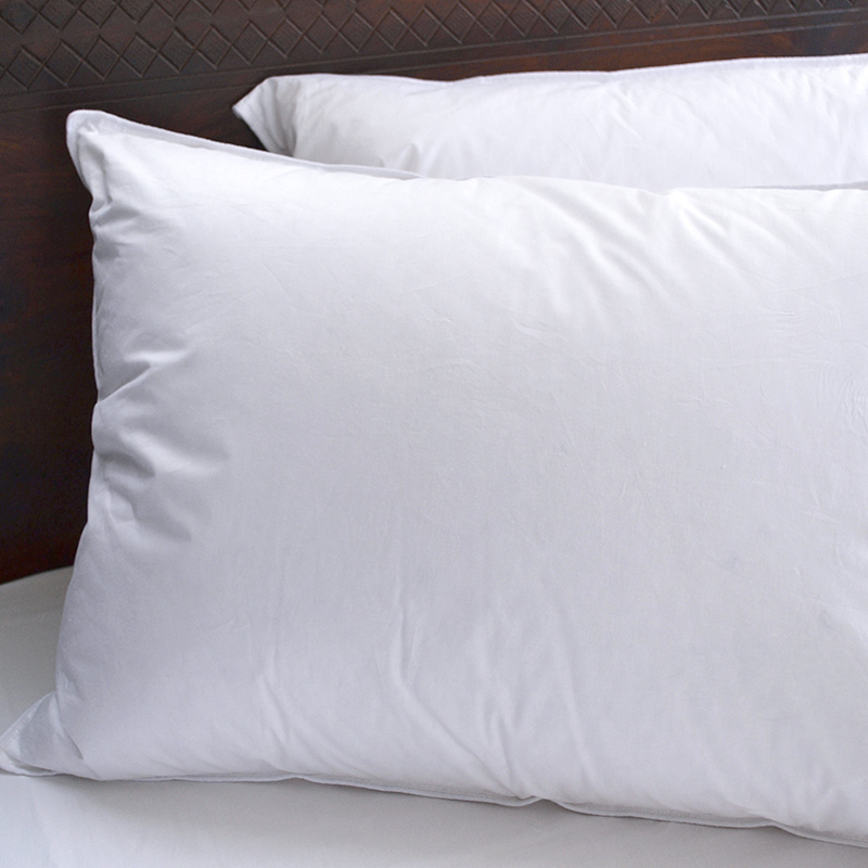Factory Price Comfortable Cotton Customized White Hotel Microfiber Pillow