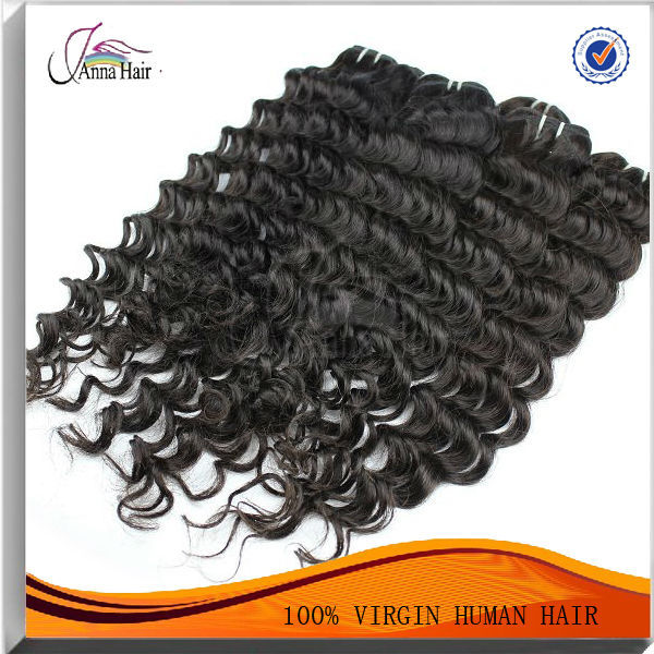 wholesale human hair extensions new comming black brazilian virgin deep wave hair