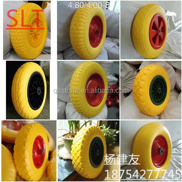 Qingdao factory supply.400-8pu foam <strong>wheel</strong> .