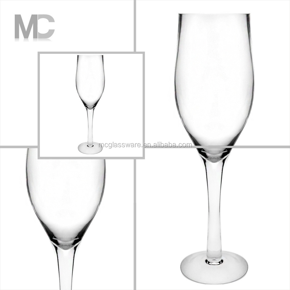 Gros Pas Cher D 233 Coration De Mariage Haut De Fleurs Martini Vase Vases En Verre Amp Cristal Id De
