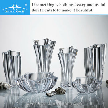 Rectangular Ornaments Tall Glass Vase For Flower Arrangments Buy