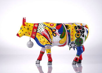 Handmade Colorful Cow Home Decoration Products
