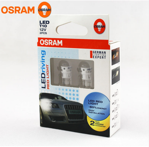 LED Motorbike Parking Light Osram T10 W2.1x9.5d Miniature Bulb Motorcyle