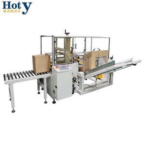 Good Working Folding Tape Sealing Machine Carton Box Packing Machine