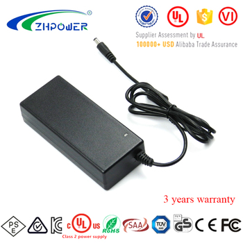 Factory Power supplies Low Ripple&Noise 24V dc 3.75A AC DC adaptor with UL CE FCC VI KC PSE NOM Certifications