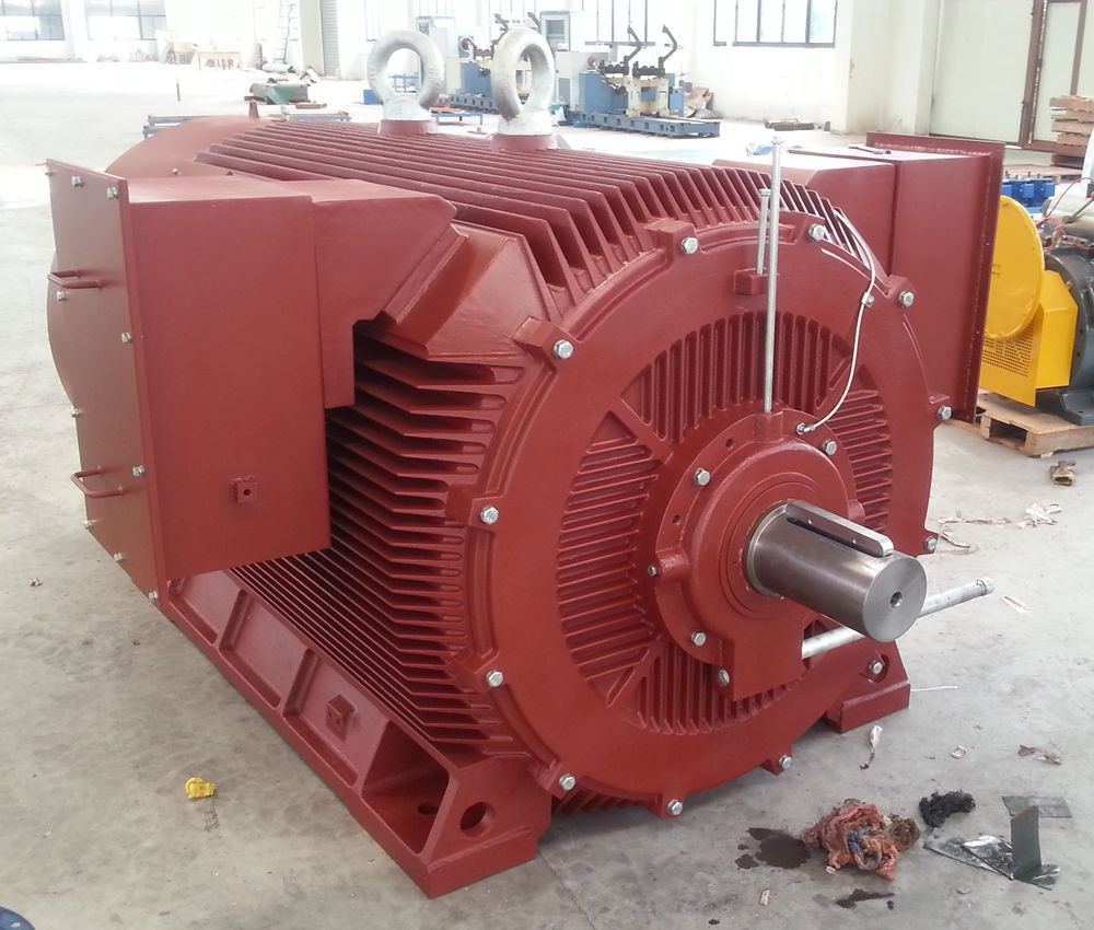 Asynchronous motor double shaft electric motors y2hv250kw for Electric motor shaft repair
